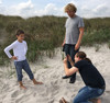 Fotoshooting am Strand